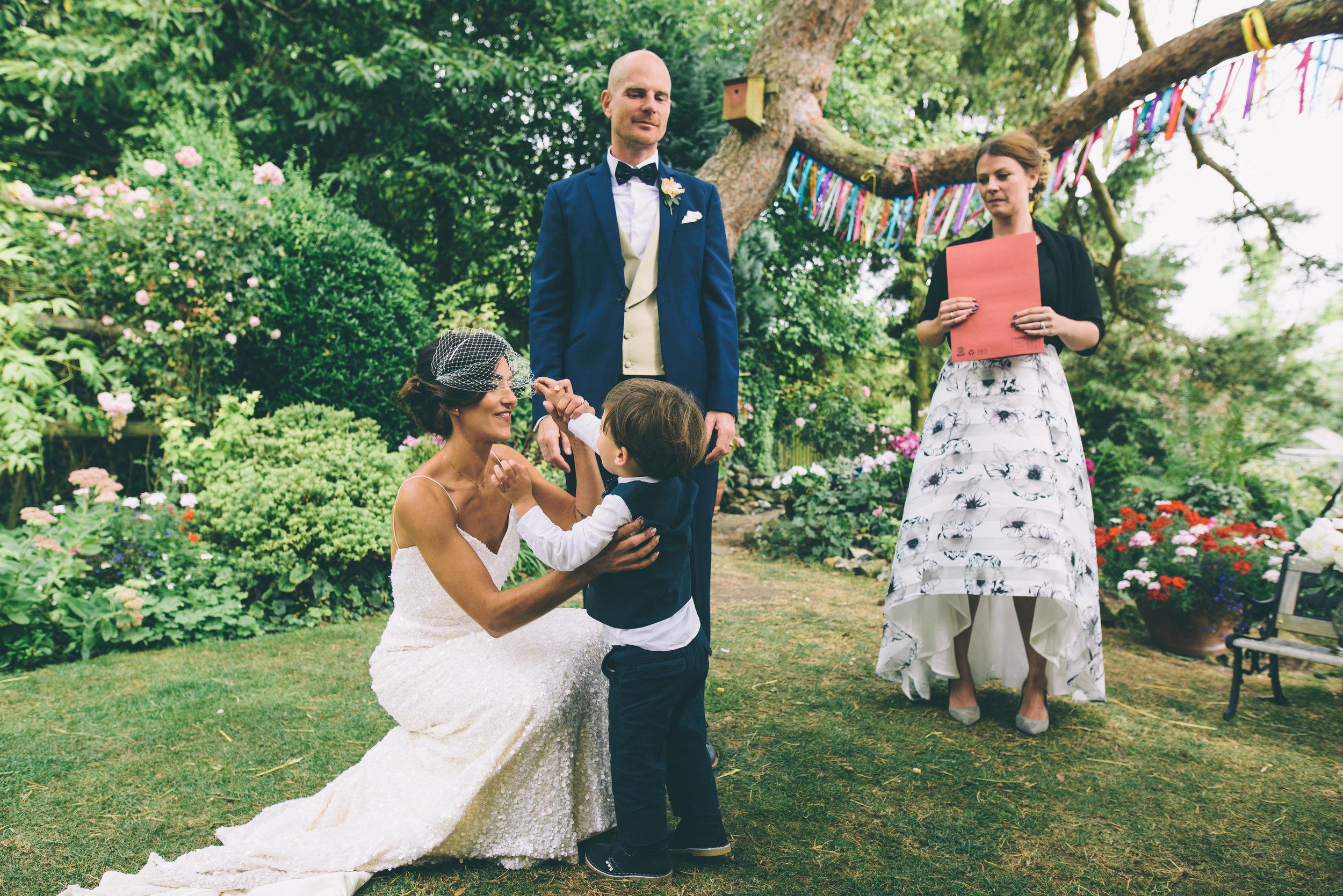 Garden Wedding photography Barley Herefordshire - Tracy + Matt -187.jpg