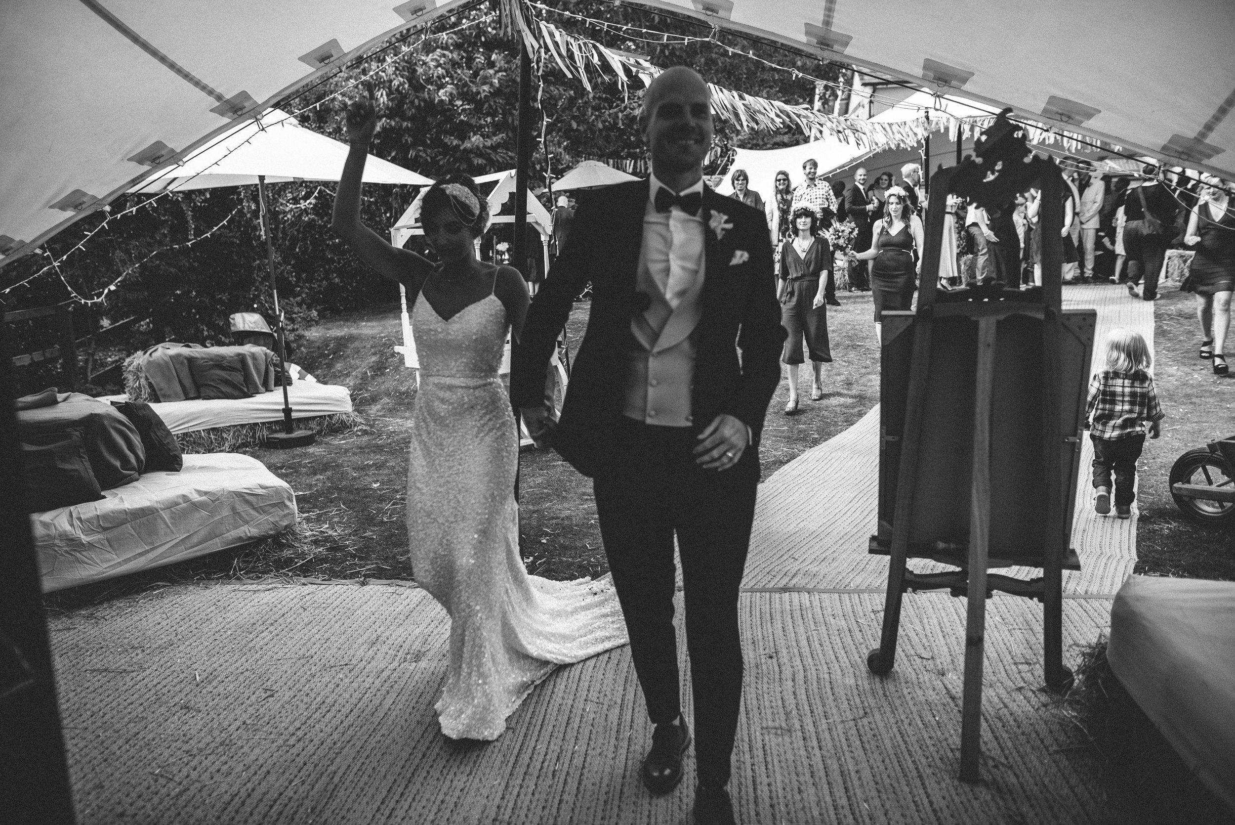 Garden Wedding photography Barley Herefordshire - Tracy + Matt -196.jpg