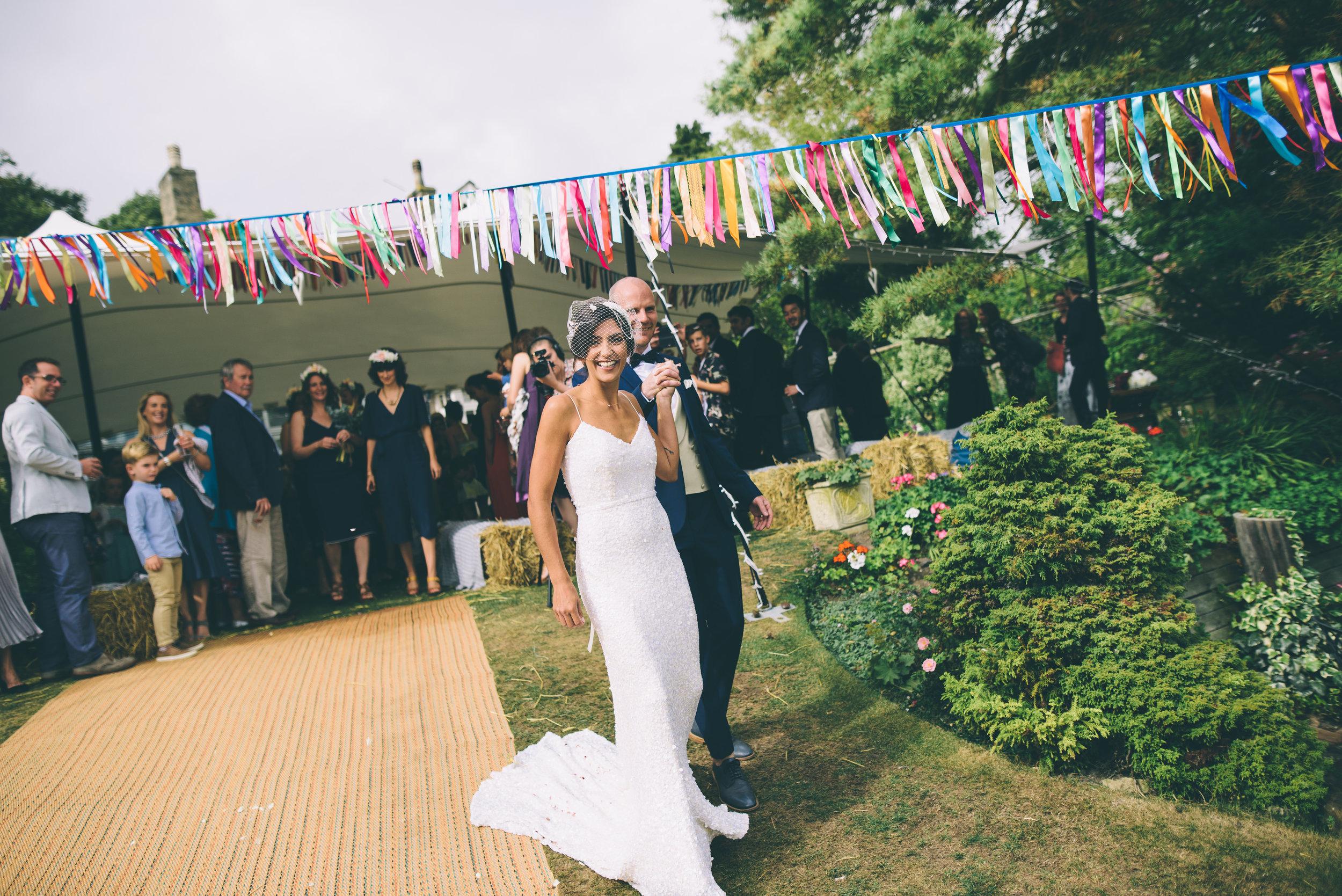 Garden Wedding photography Barley Herefordshire - Tracy + Matt -195.jpg
