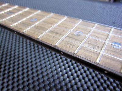 Frets ready for some leveling