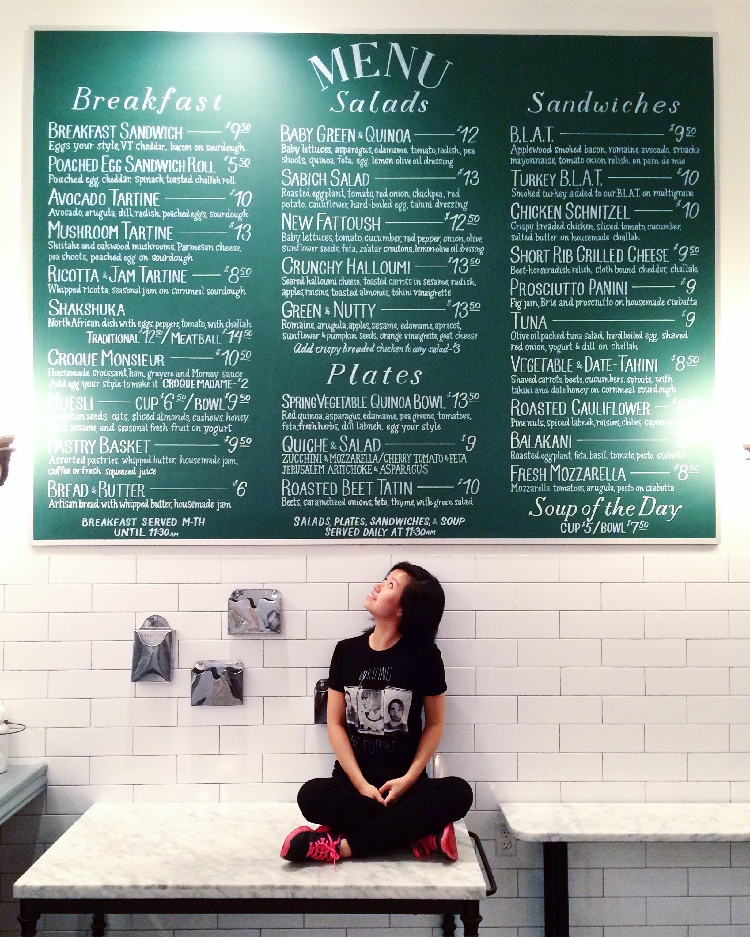Chalk Work for Tatte Bakery in Boston