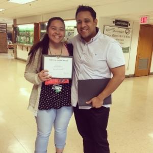 Genesis Morales from Bryan Adams High School in Dallas ISD.