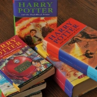 JK Rowling's most famous book series.
