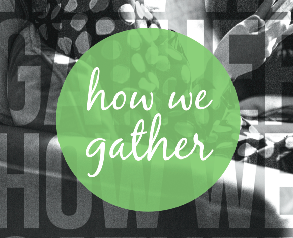 'How We Gather' a report by Harvard Divinity School students on where Millennials find community and meaning including Deliberate Discourse.