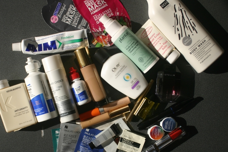 Carry-on toiletries: what could have been.