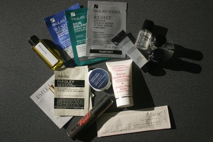 samples in carryon
