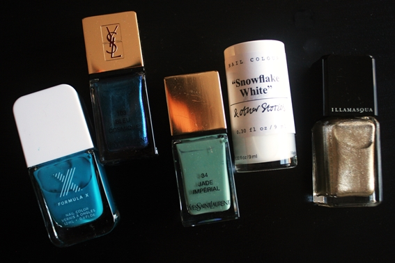 sephora formulax ysl other stories illamasqua nail polish