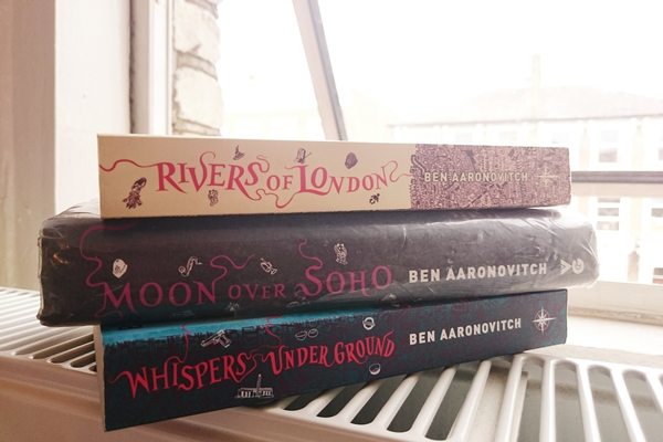 Rivers of London -- there are two more books in the series.