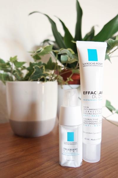 La Roche-Posay Toleriane Ultra Contour Yeux eye cream and Effaclar Duo[+] moisturiser