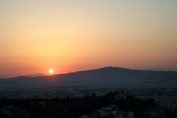 Athens Sunset from Acropolis