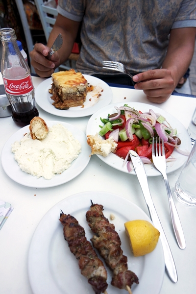 Nikitas Athens Lunch