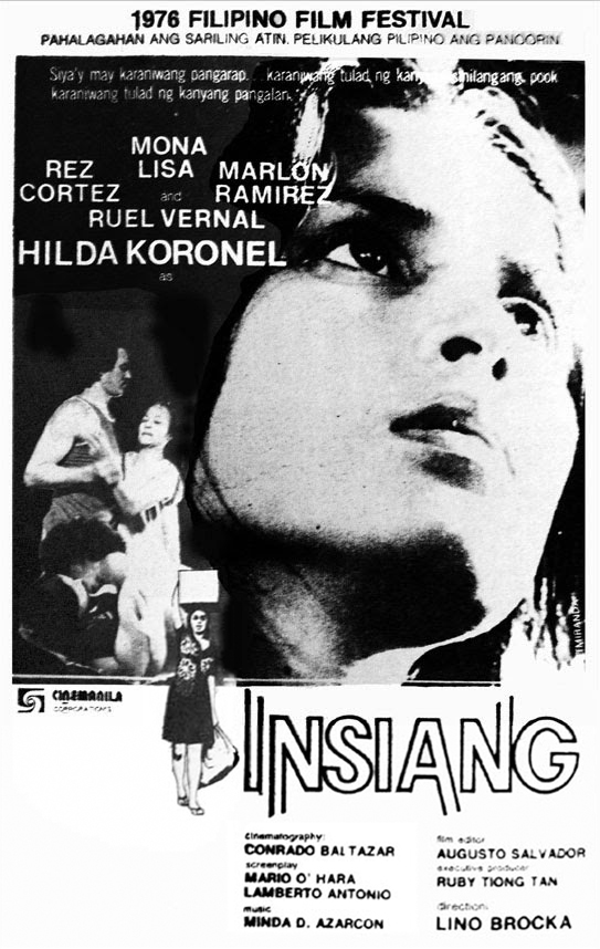"""""""Insiang"""" is honored as a  Cannes Classic  at the 2015 Cannes Film Festival."""