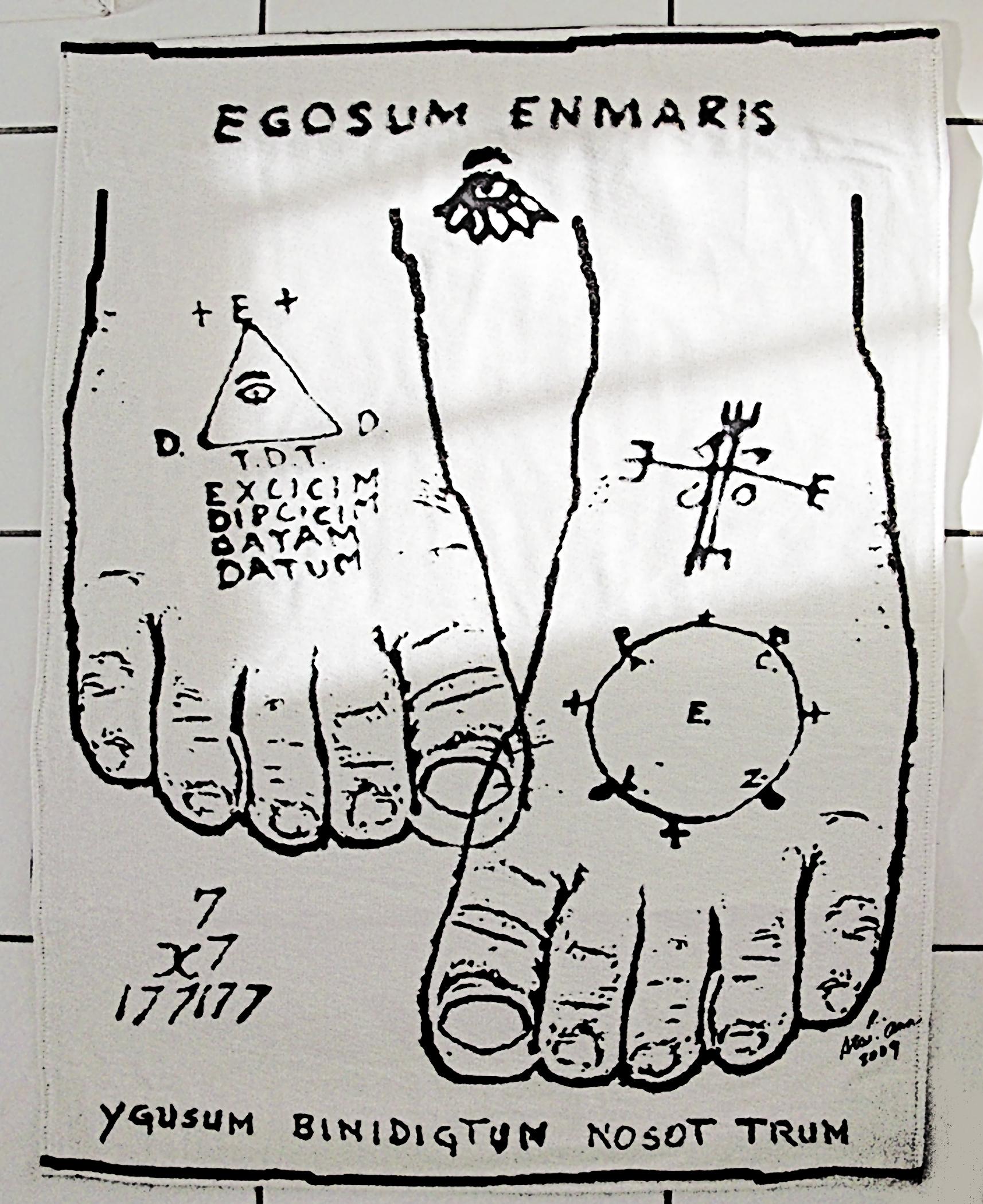 """Tapestry Feet"" by  Jun Jun   Sta. Ana     ISSUE THREE"