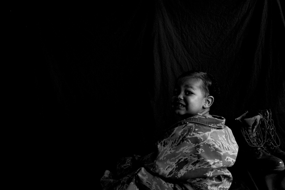 B&W Photography - Sarah Estime is an Aircraft Mechanic in the Air Force. When she is not working at her day job, she is conducting photo shoots for her community. She has been published in Burner Magazine, Words Apart Magazine, and Midwestern Gothic. She was also a recipient for the 2010 Arts For the Future Award with a medium in photography.