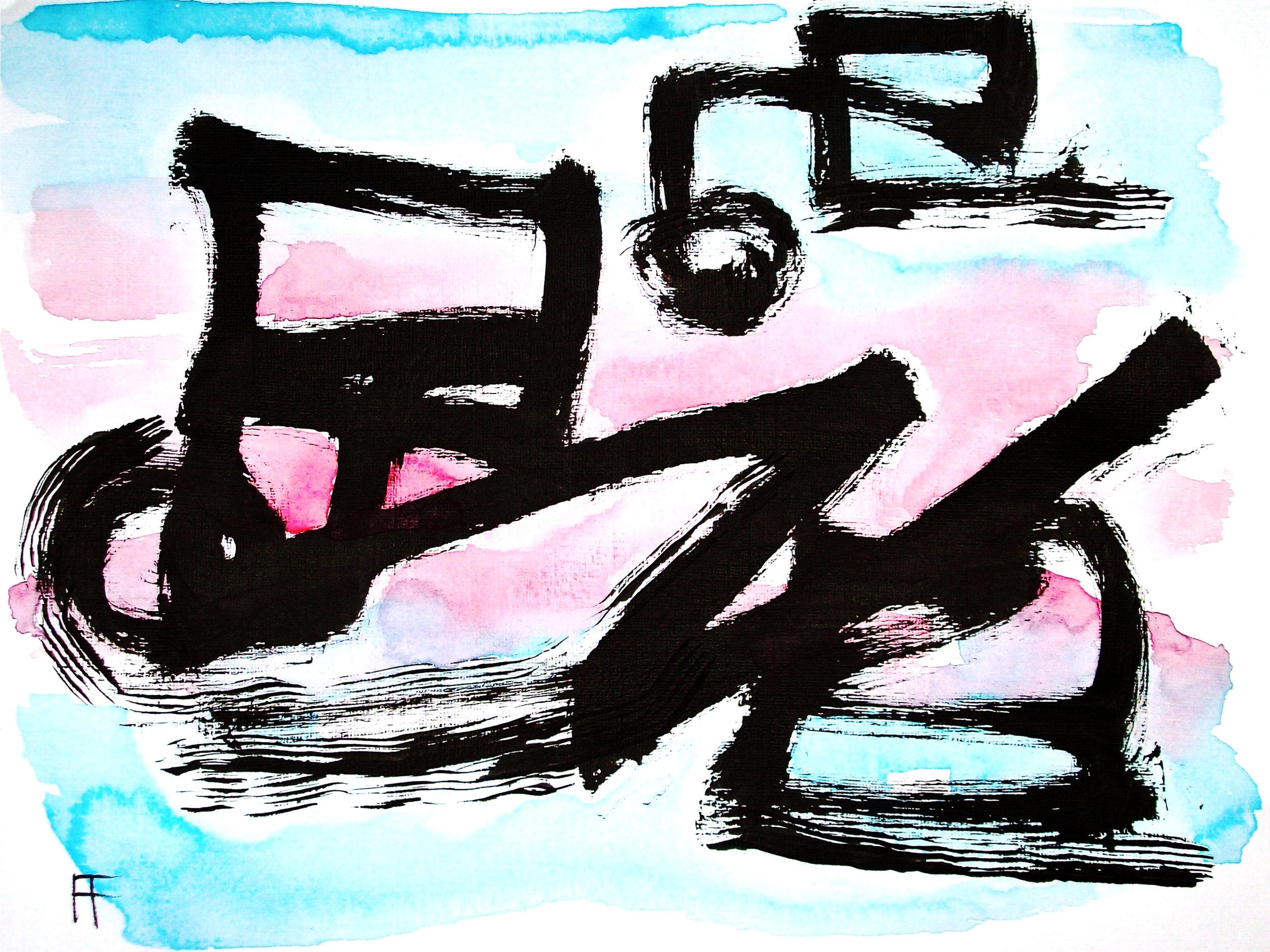 """""""Gesture, No. 3"""" by  Allen Forrest"""