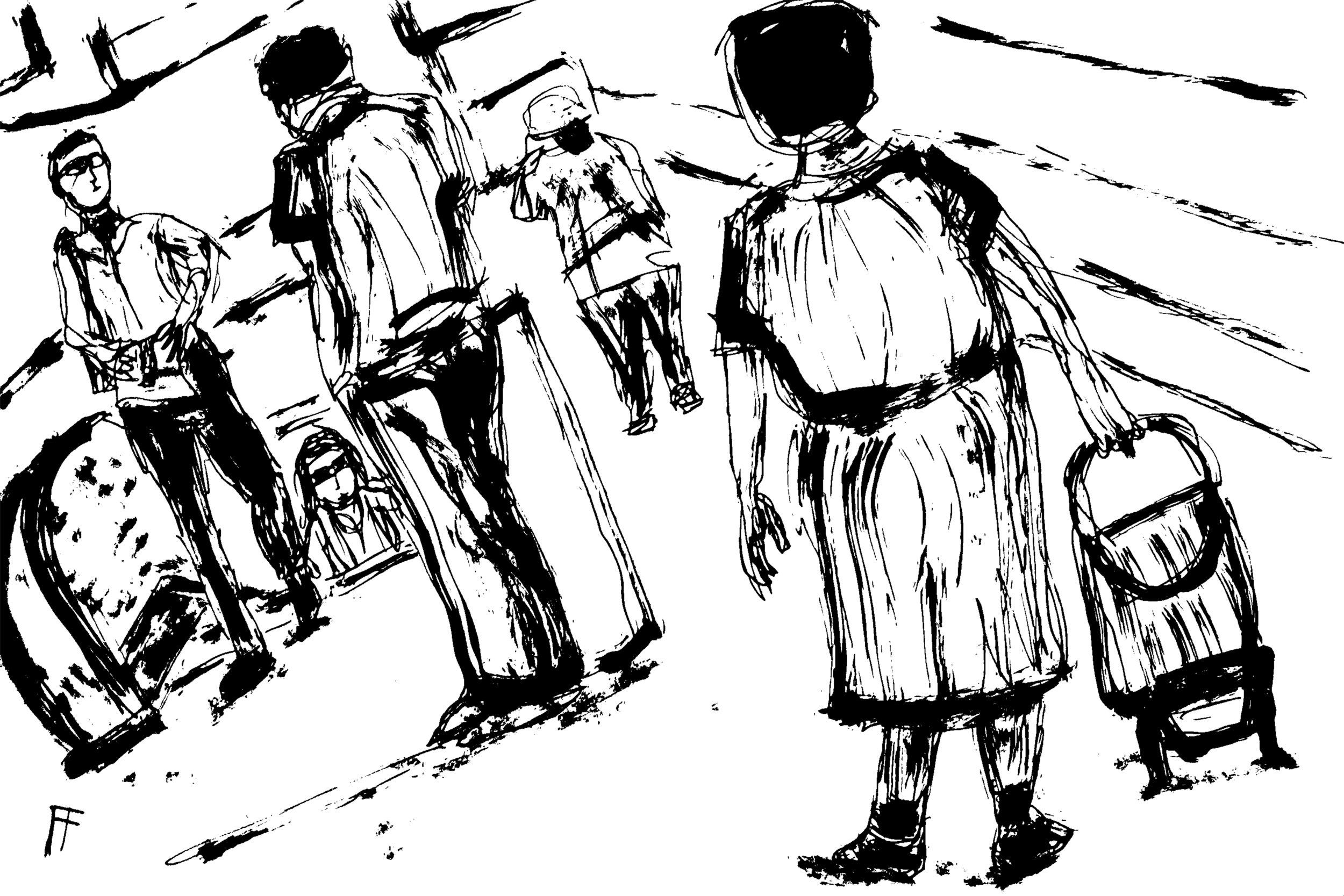 """Vancouver Transit, No. 9"" by  Allen Forrest"