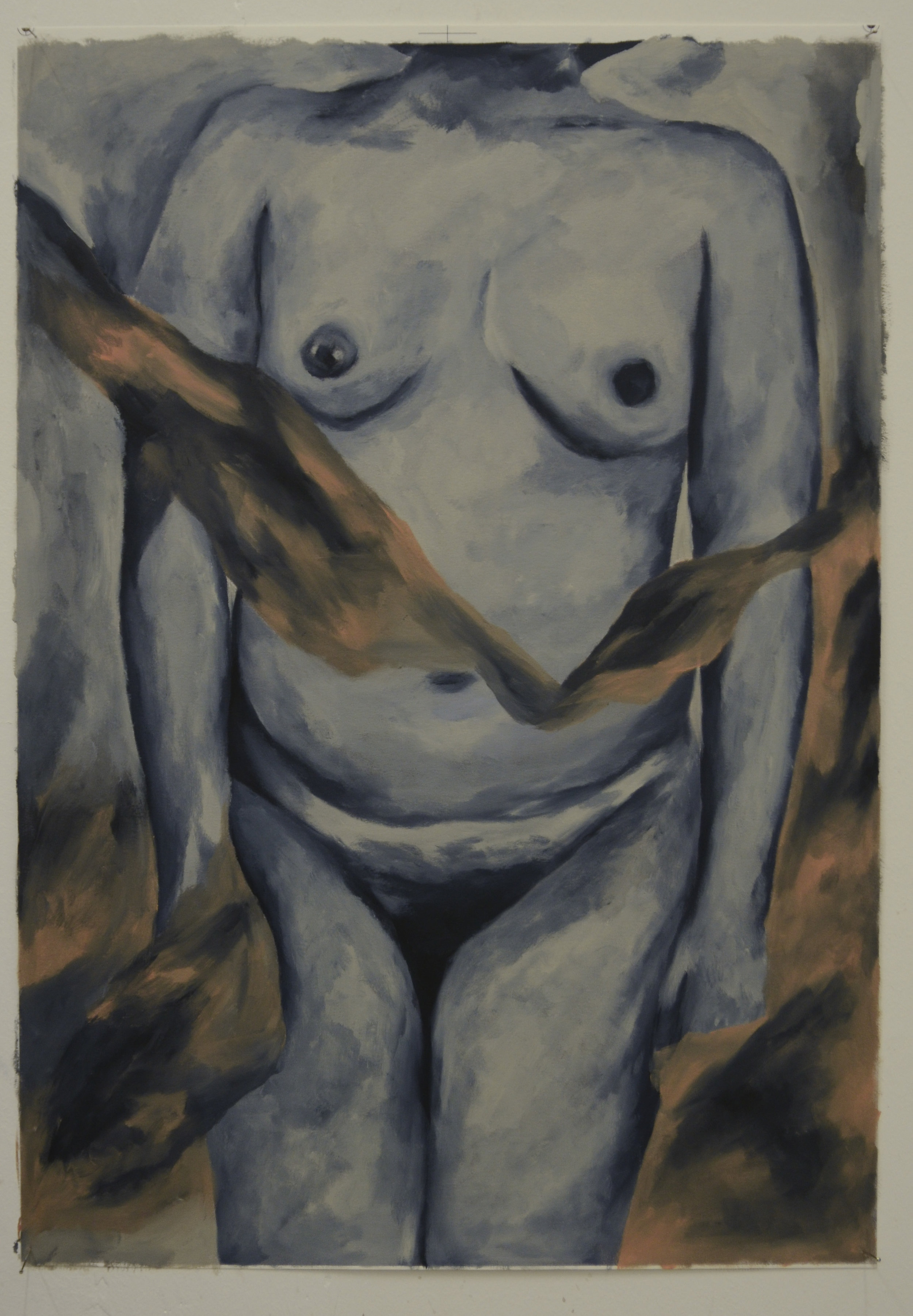 Carina Santos Painting of a picture (I just wanted to be a body).jpg