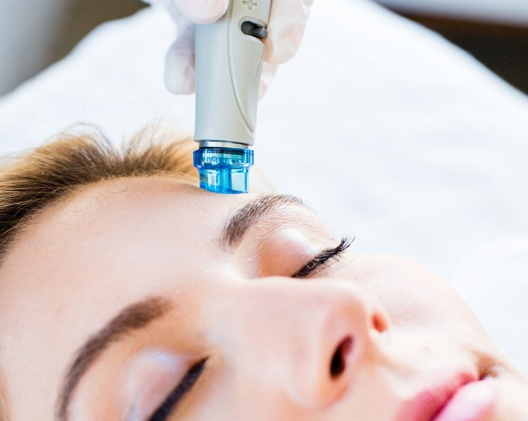 HydraFacial Rejuvenation - The HydraFacial treatment is recommended for all skin types and targets skin issues such as acne, fine lines and wrinkles, oily or congested skin, sun damage and uneven skin tone and dry or dehydraed skin. It provides immediate results with no downtime or discomfort.