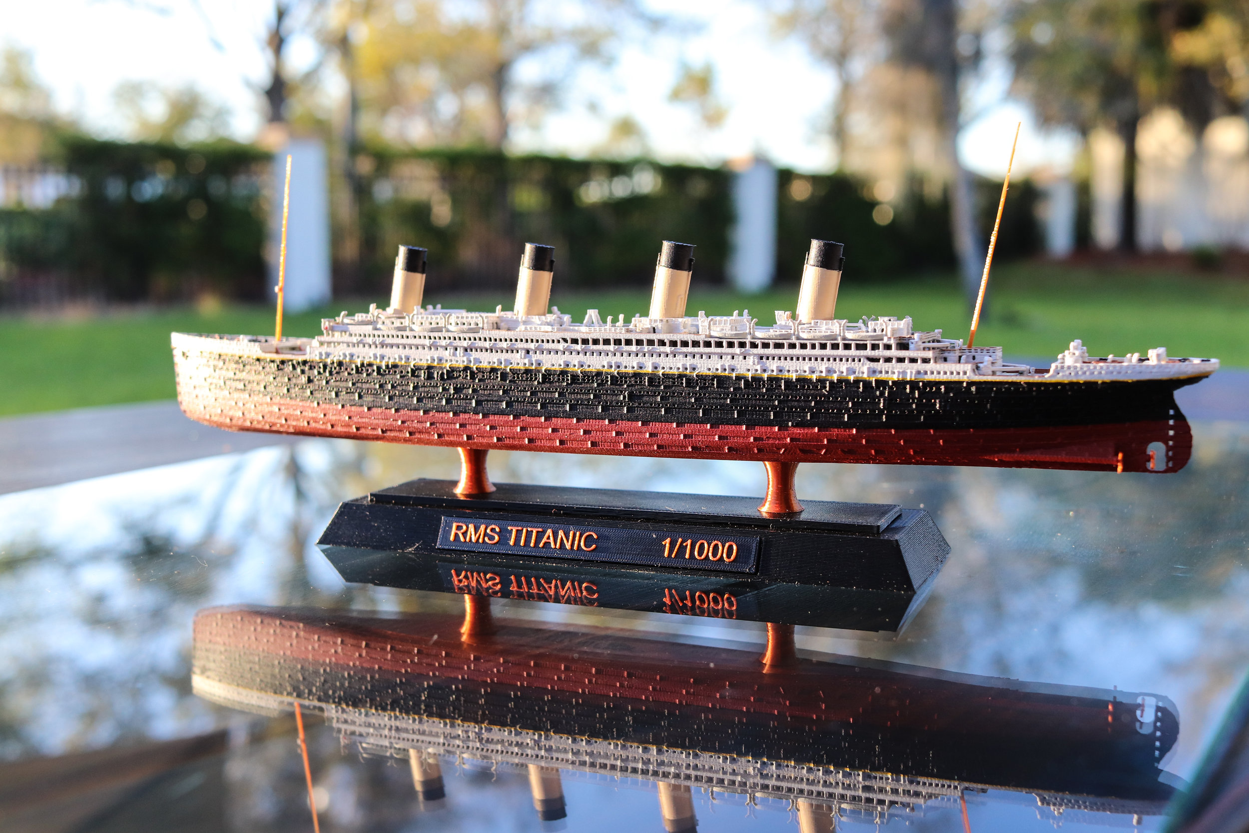 RMS Titanic Model - Click for details