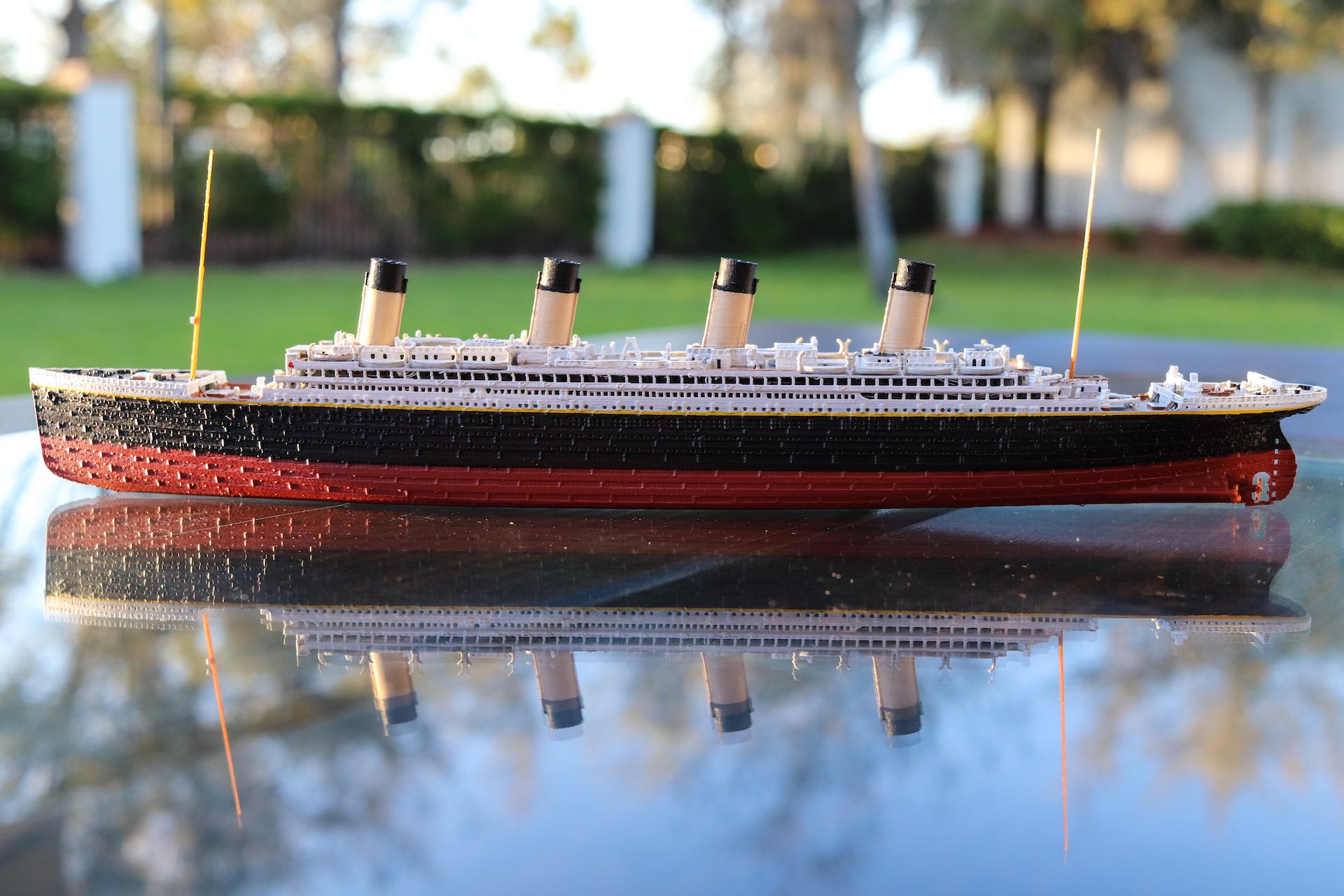 RMS Olympic Model - Click for details
