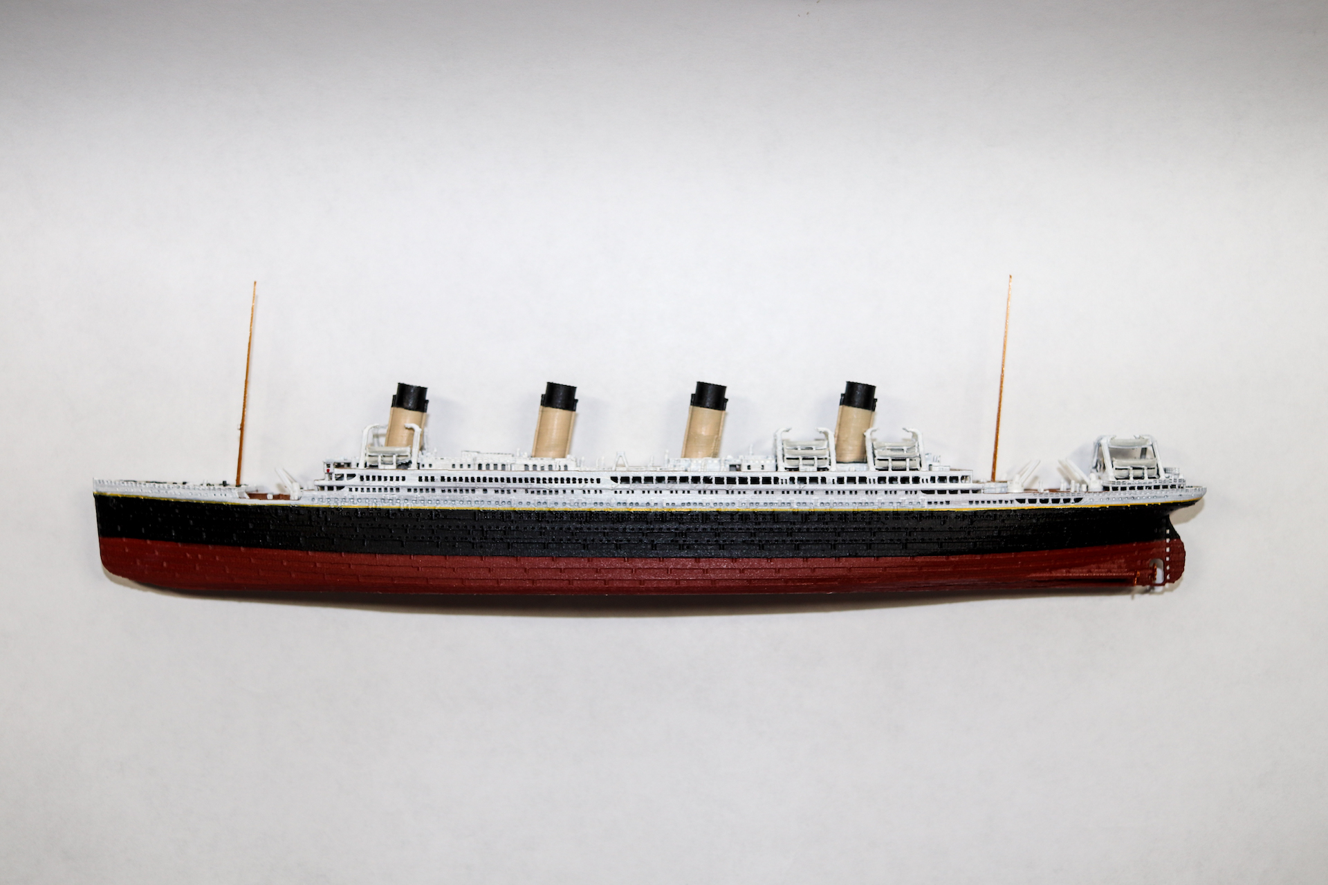 RMS Britannic Model - Click for details