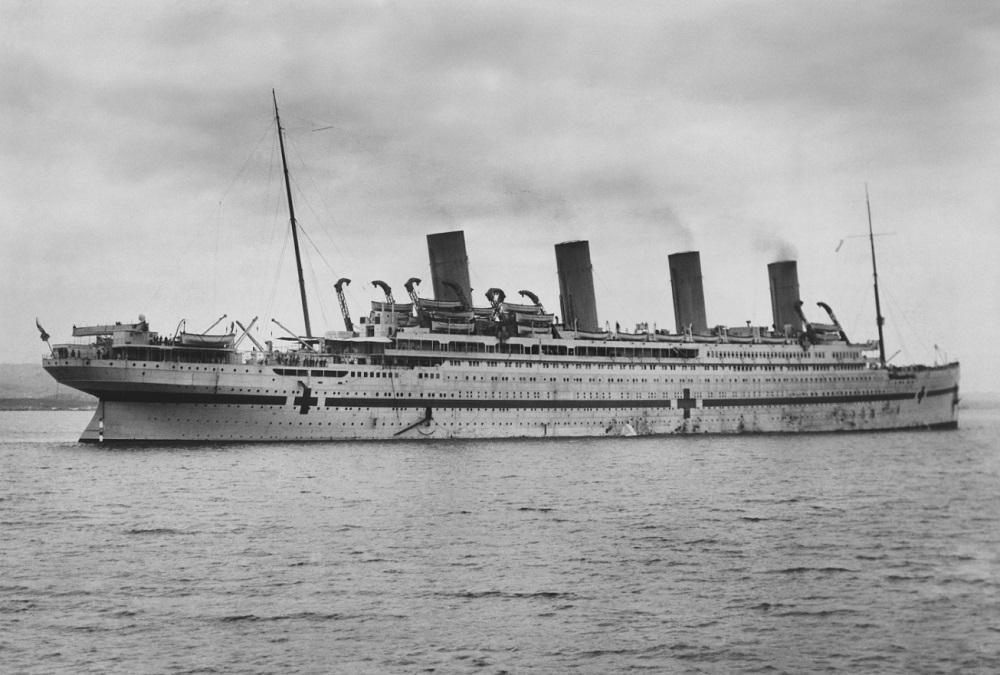 HMHS Britannic Model - Click for details