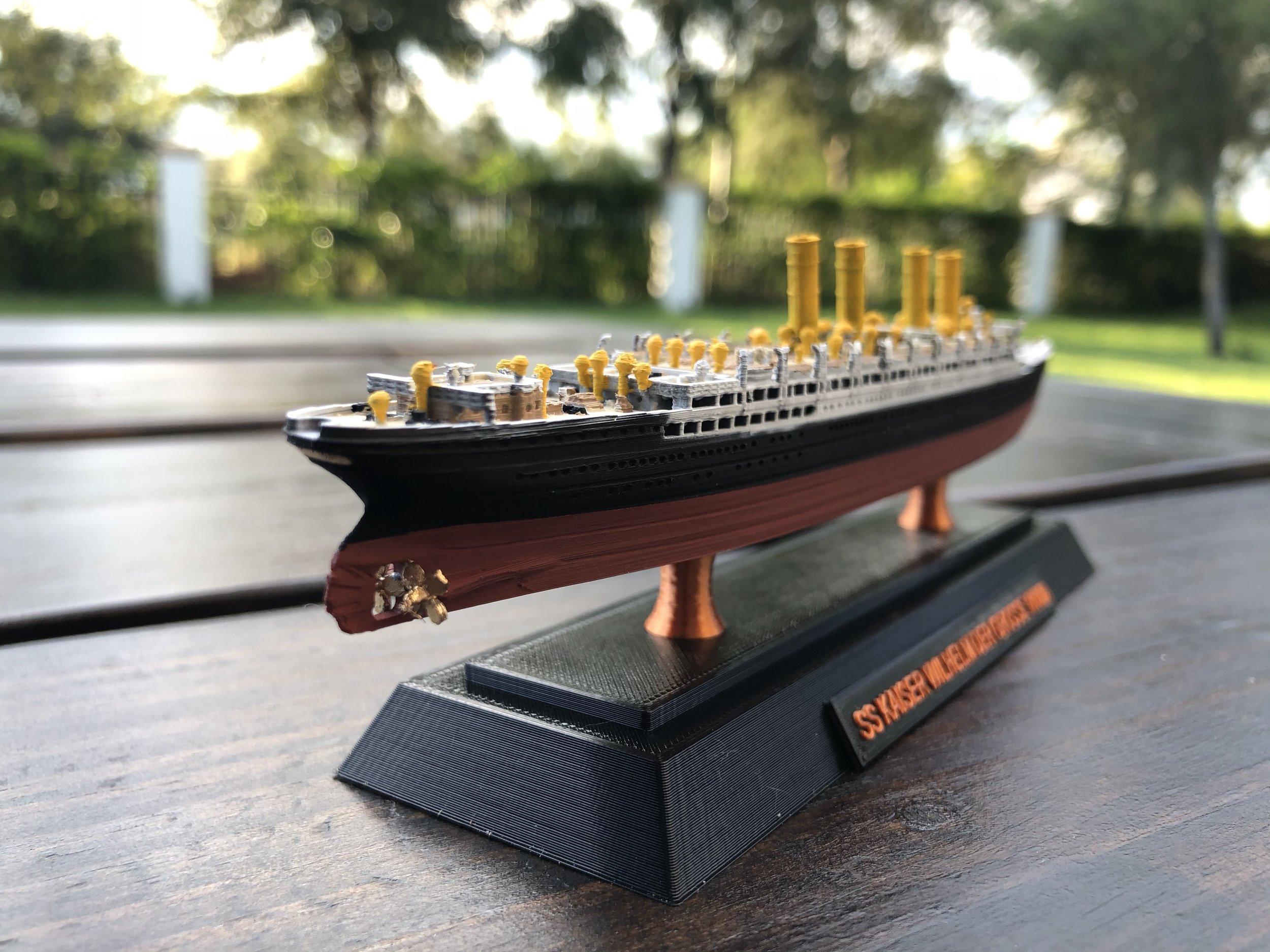 SS Kaiser Wilhelm der Grosse - Click for details