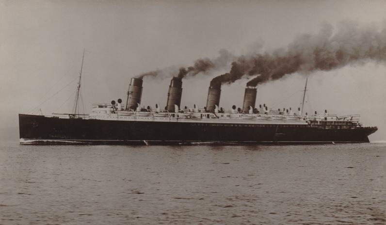 RMS Mauretania - Click for details