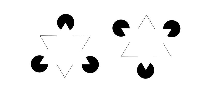 Kanizsa Triangle Illusion