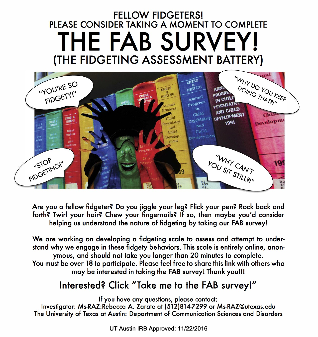 Fidget Scale Survey FAB