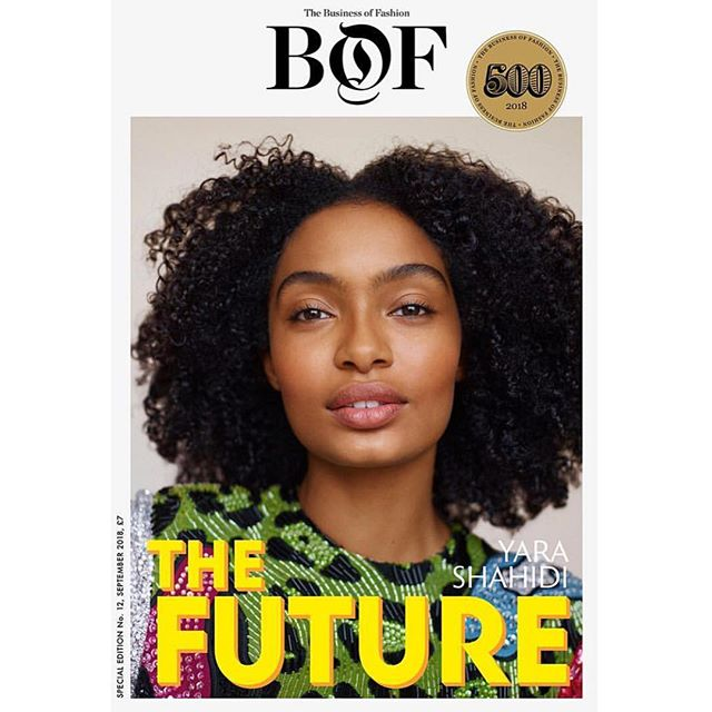 THE FUTURE #NewWork from #makeupartist @emilychengmakeup for @bof feauturing the incomparable @yarashahidi #photo @thomaswhiteside . . . . . #Beauty #fashioneditorial #Cosmetics #hair #MUA #promakeupartist #beautyphotography #fashionphotography #artist #beautypr #ArtistAgency #beautypublicrelations #publicrelations #lips #eyes #contour #cheeks #hairstyle #beautiful #naturalbeauty #editorial #beautyeditorial #beautiful #artist #creative #style #gorgeous