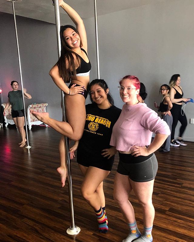 "Happy ""Love-Yourself-Uary""... Check out @jasmine_kimmie and her friends rocking the intro... Did you know? Members bring a friend free to any Intro all month. Just have your friend make a login in. Then email us at polarityfitness77@gmail.com to reserve your friends spot.... P.S. Yes, you need to come dance with them. We want to introduce us to them. Walk ins will not be accepted as space is limited."