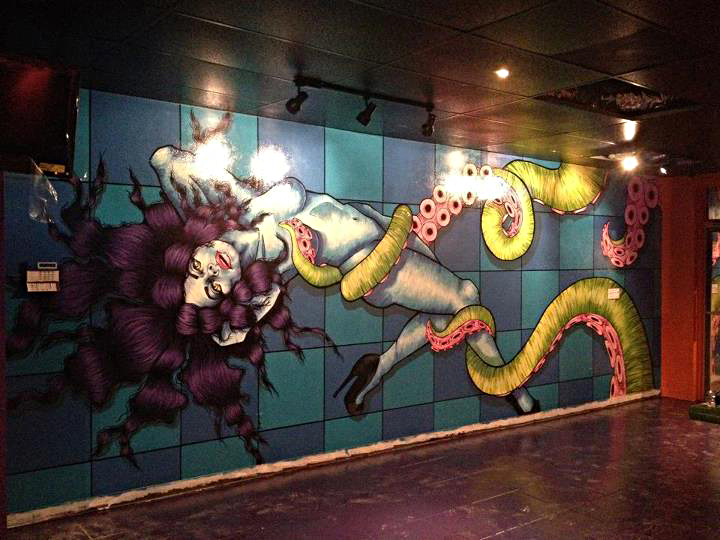 Octo Bar Mural