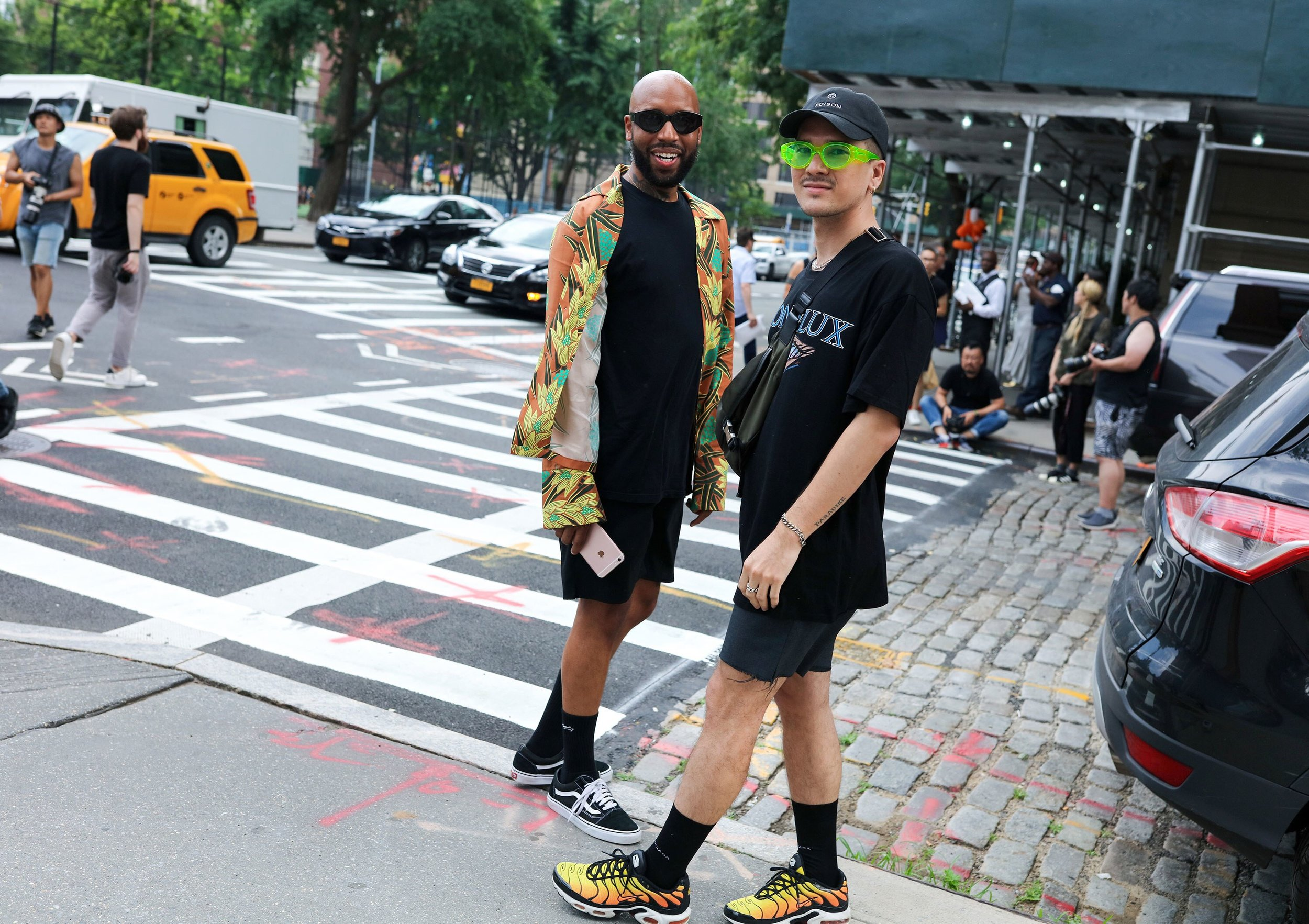 VOGUE Phil Oh's Best Street Style Pics From New York's Spring 2018 Men's Shows -