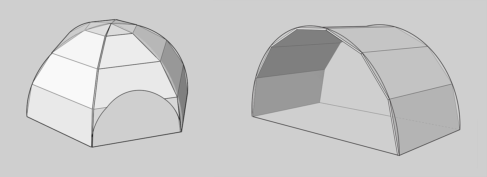 igloo and dome comparisons