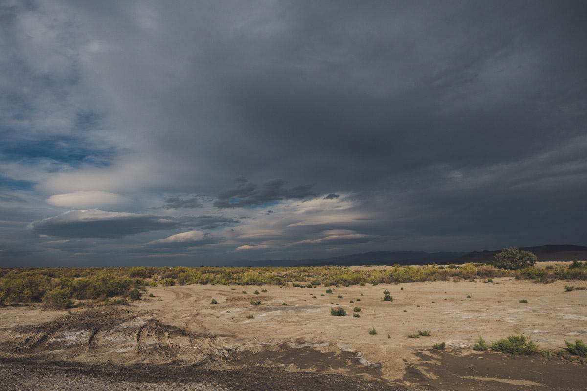 The loneliest highway, US-50.
