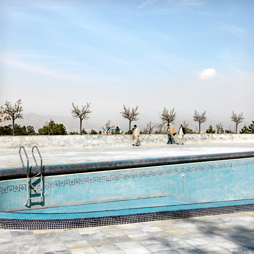 Favorite place of the city: Swimming pool Intercontinental Hotel