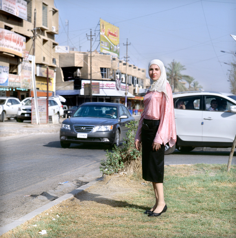 21 year old Baghdadi journalist Maryam