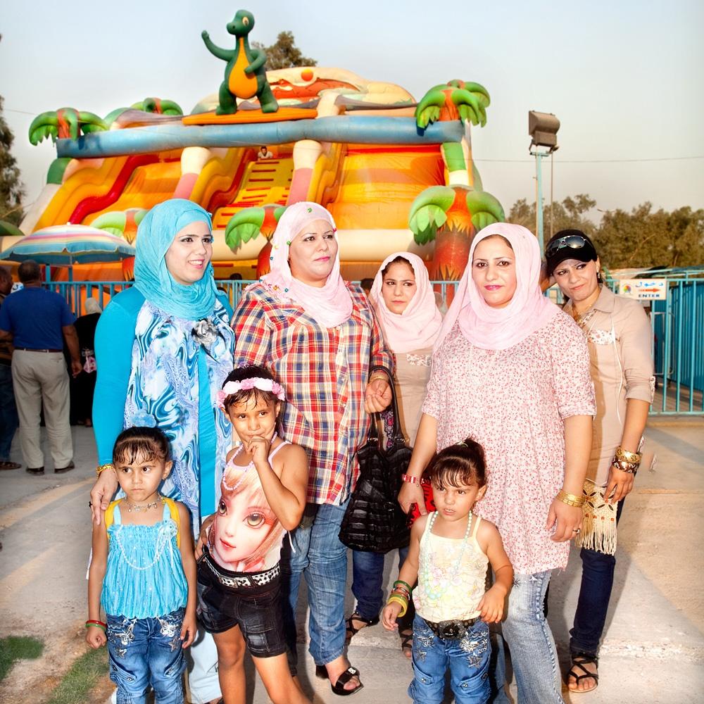 Sisters in Zawra Park