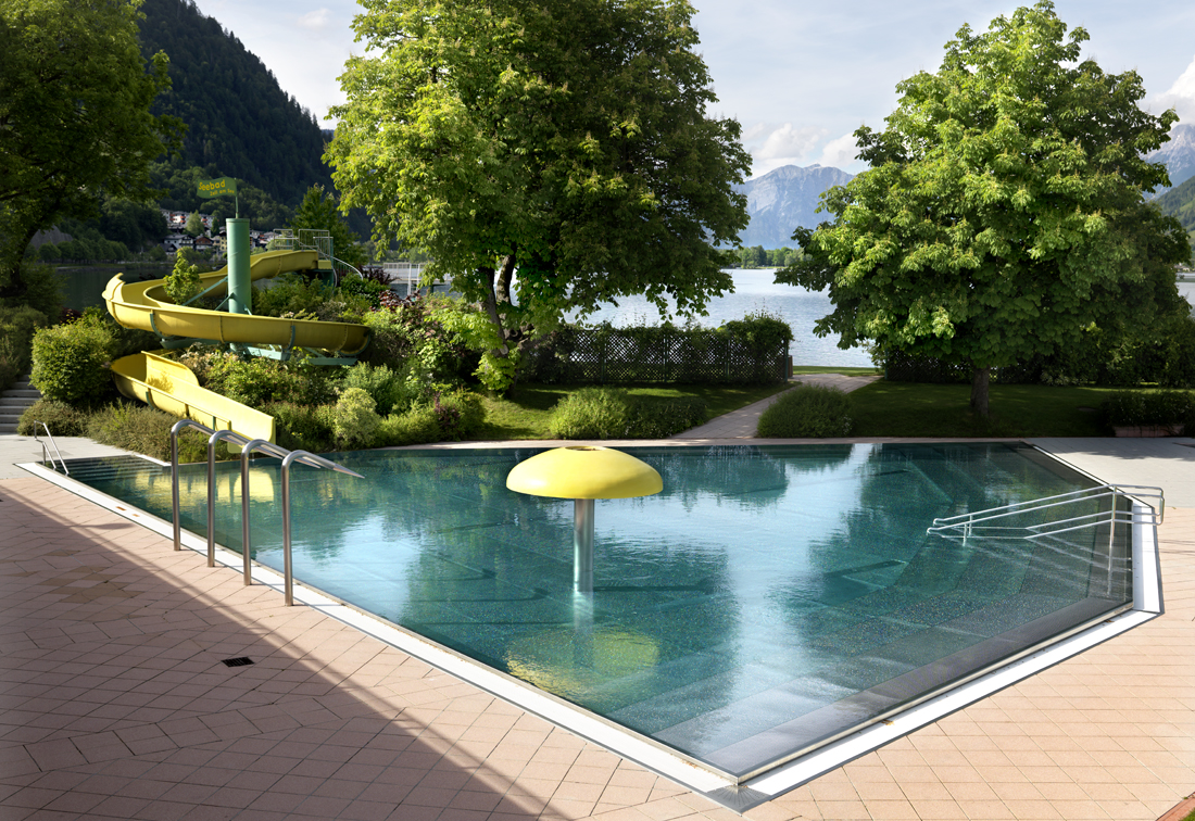 Zell am See, Austria.  End of the tourism season.
