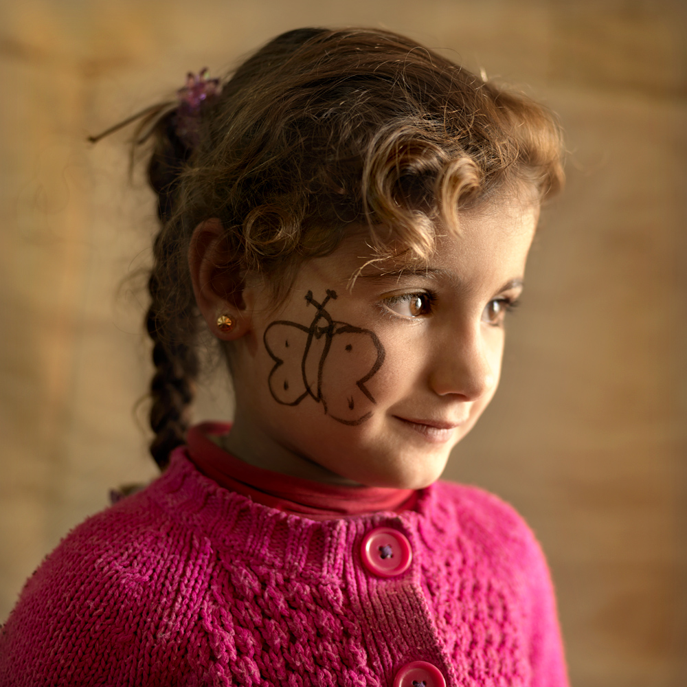 Goroub (4), one of the daughters of Satouf.