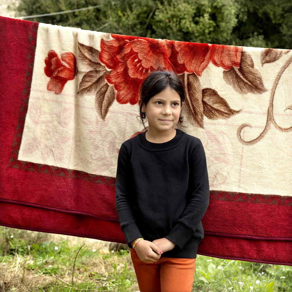 Baraa Aantar (10) from Damascus