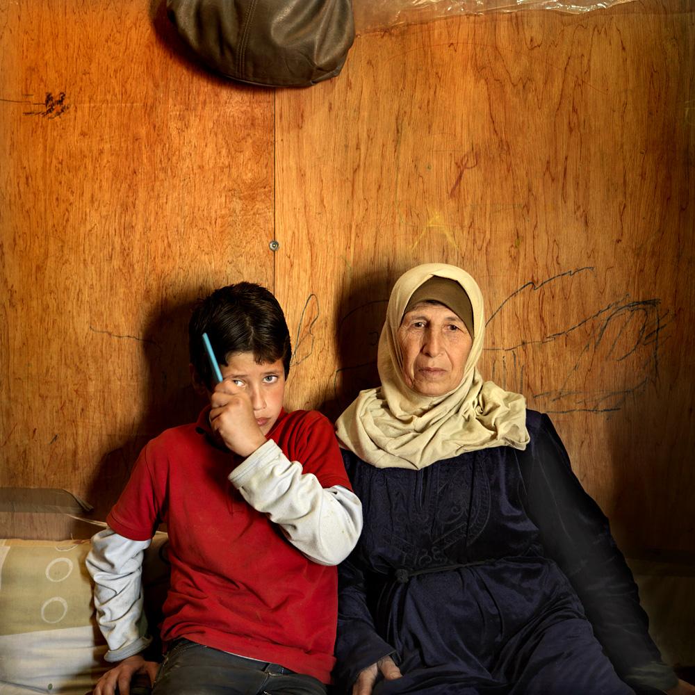 Iyman Kino (63) from Aleppo