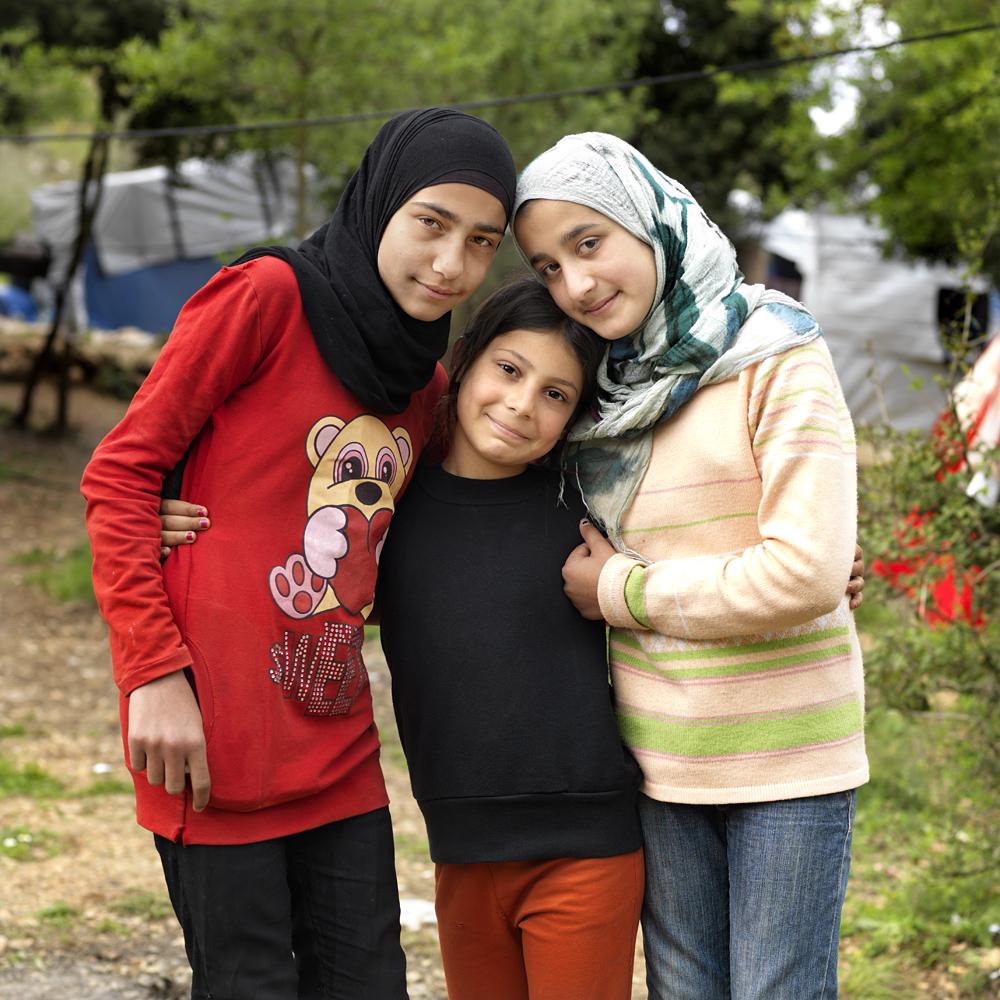 Alia, Baraa and Nijameh
