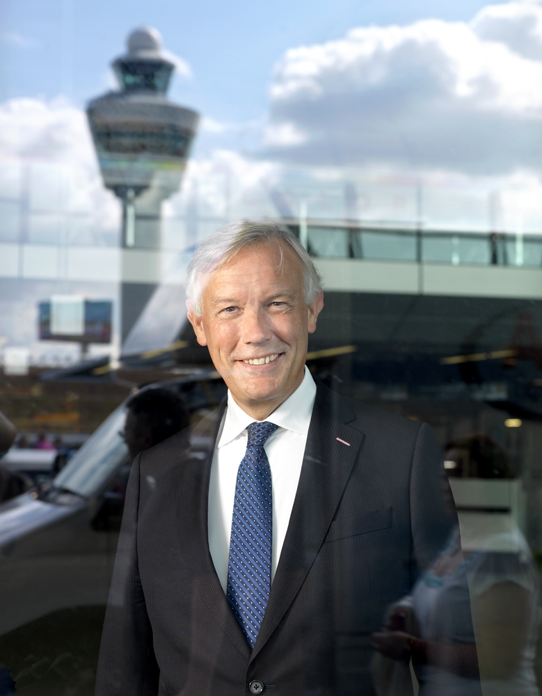 Jos Nijhuis, CEO Schiphol Airport   Client: Schiphol Airport