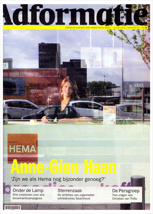 Anne Gien Haan, Marketing director HEMA   Client: Adformatie