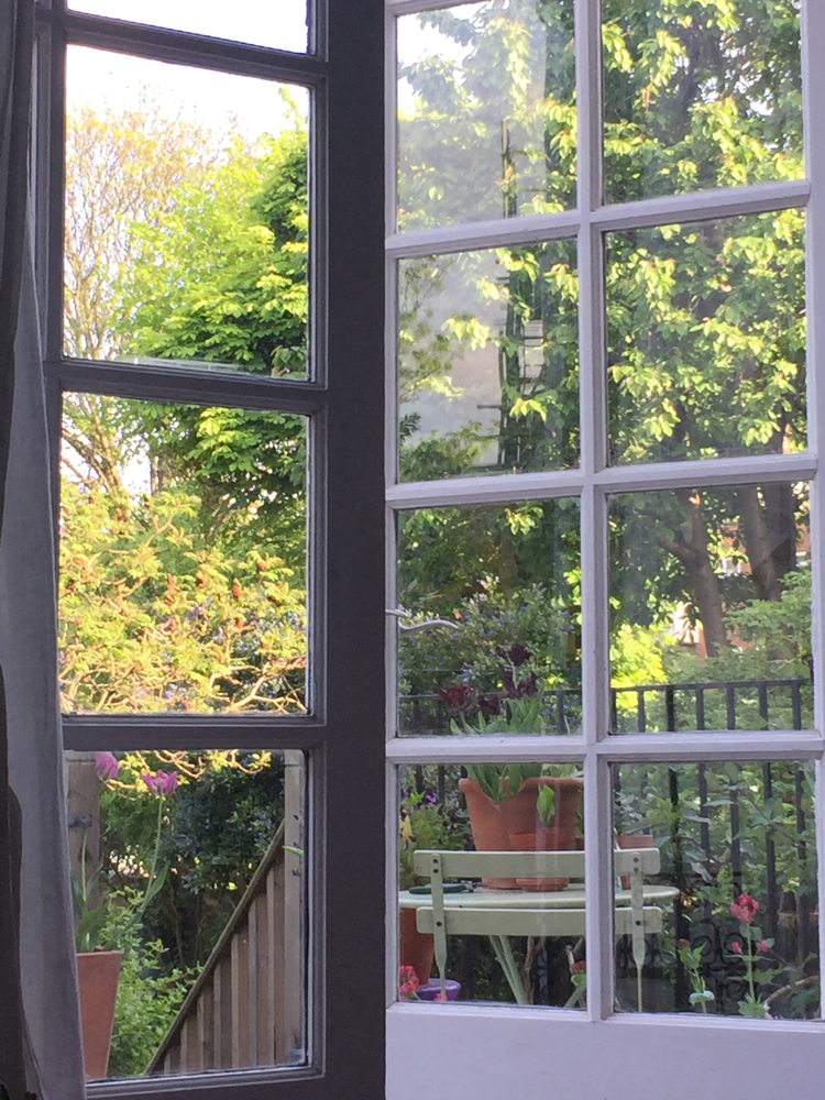 May, London: Home. I enjoyed being at home and in the garden more than ever.