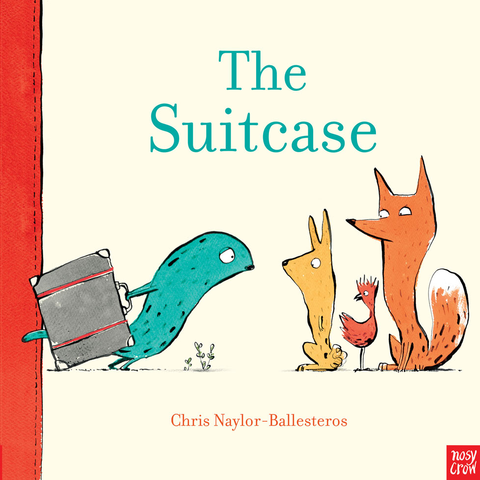 The Suitcase - When a strange-looking animal arrives pulling a big suitcase, the other animals are curious. What on earth could be inside that suitcase? A teacup? Maybe. A table and chair? Perhaps. A whole home and hillside with trees? This stranger must be fibbing! But when the animals break into the suitcase and discover a very special photograph, they begin to understand what the strange creature has been through, and together they create a very special welcome present . . .Published by Nosy Crow on 2nd May 2019