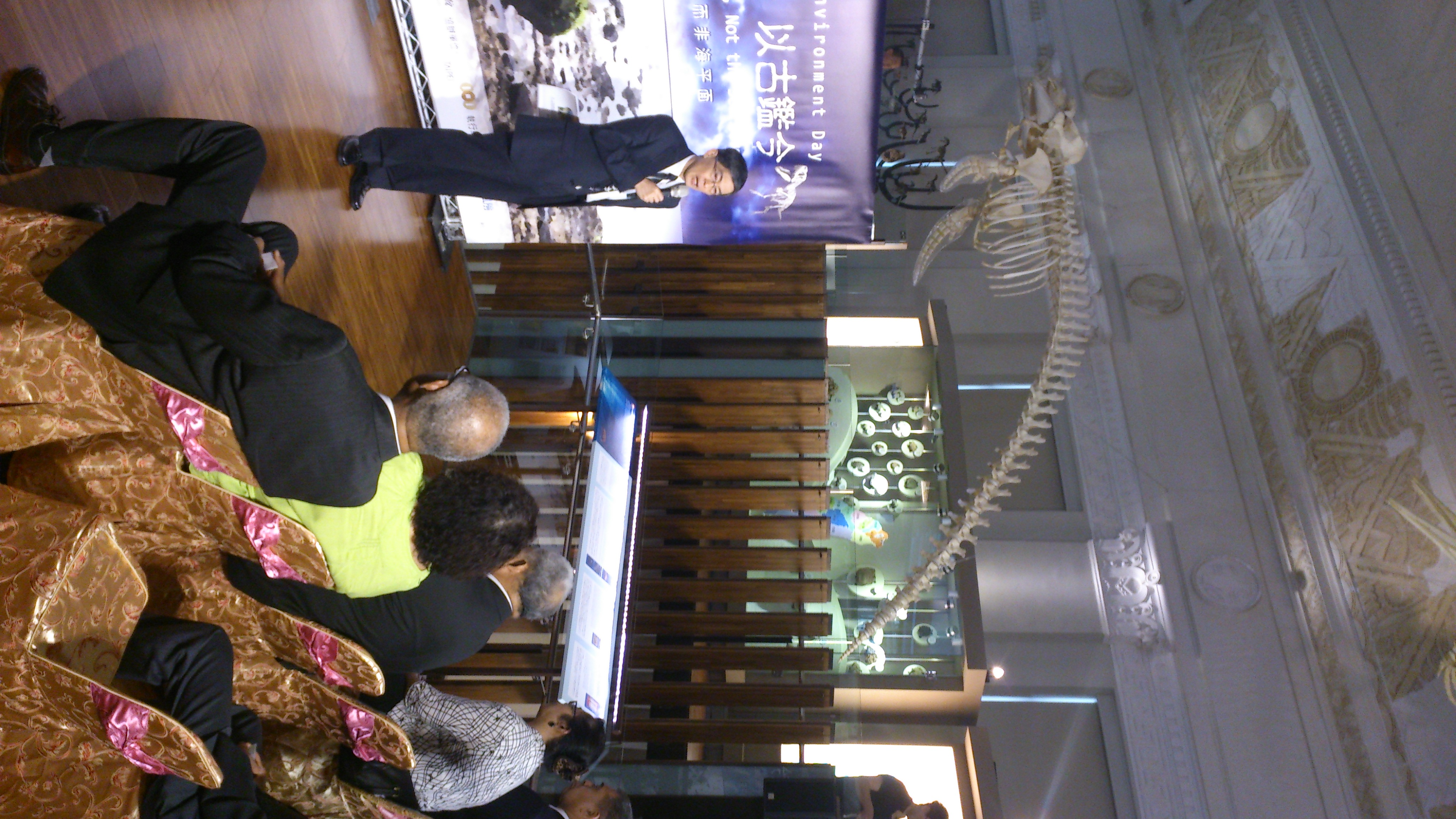 Dr. Wei, Kuo-Yen, Director of Taiwan's Environmental Protection Administration/環保署署長魏國彥