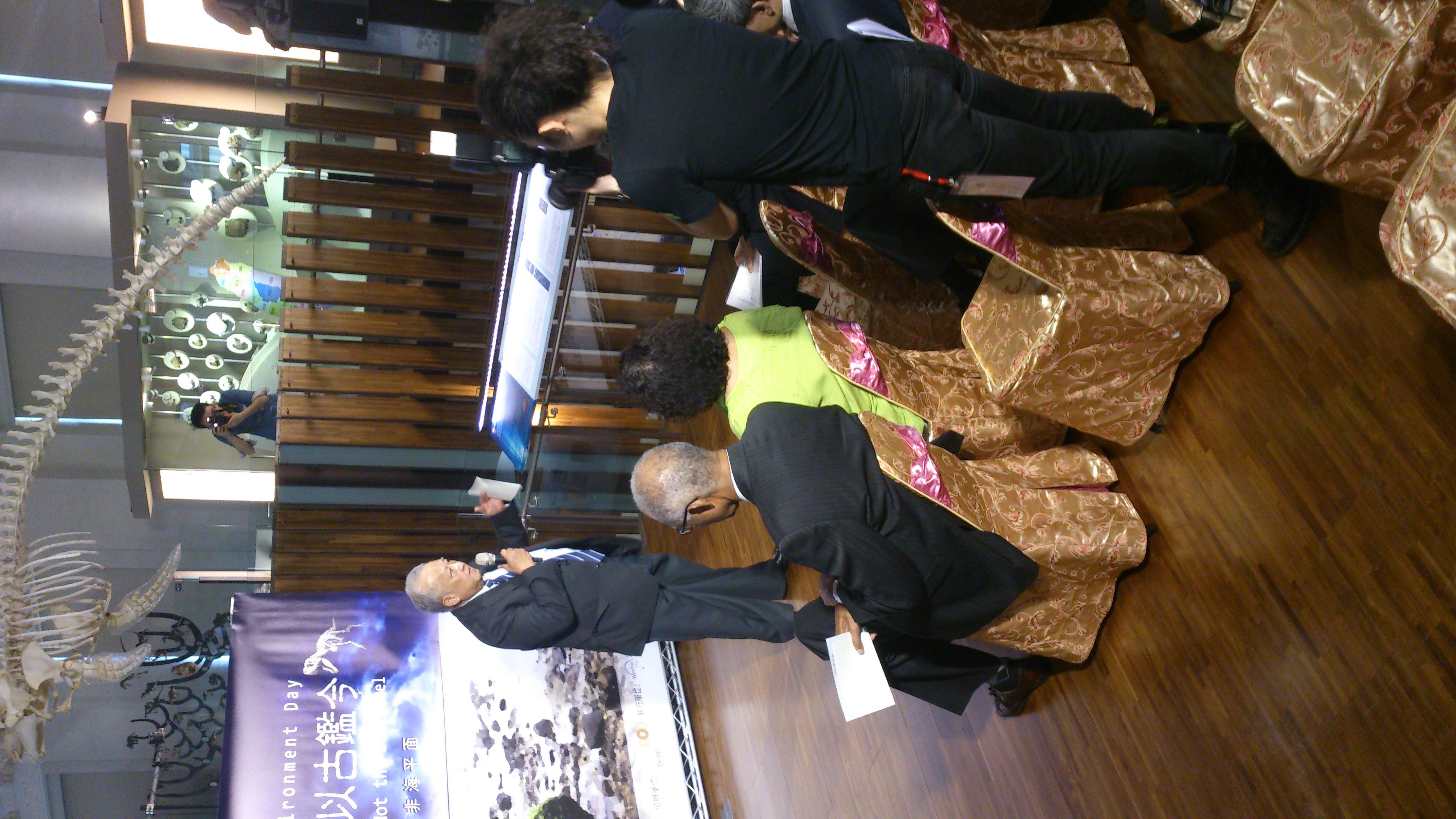 Ambassador Phillip K. Kabua from the Republic of the Marshall Islands/馬紹爾群島共和國大使菲利浦.卡布亞